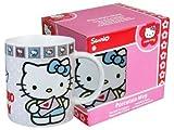 Hello Kitty-Taza cerámica, diseño de carta