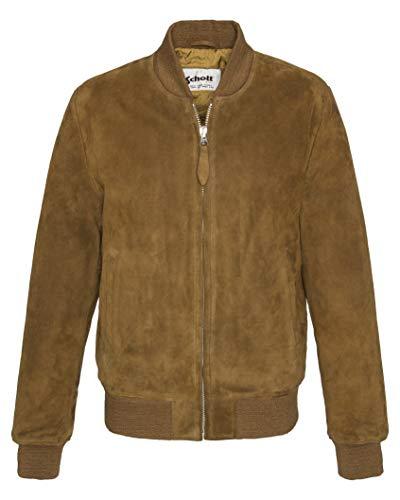 Schott NYC Lc3017 Giacca, Marrone (Rust Rust), Medium Uomo