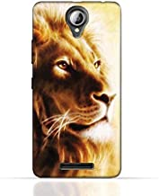 Lenovo A5000 TPU Silicone Case with Lion Portrait Air Brush Pattern
