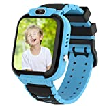 Di Gu Dong Kids Smart Watch for Girls, Smart Watch for Kids Educational, Kid Watch Electronic Game Toys, Camera Watch Birthday for Kids Aged 3-12 (Blue)