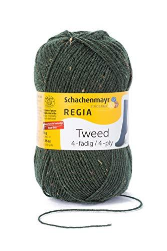 Schachenmayr REGIA Handstrickgarne 4-fädig Tweed, 50g Loden Tweed