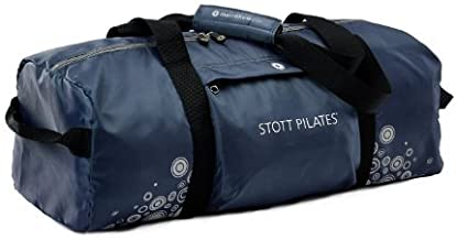 STOTT PILATES Mat Bag, Duffle Style (Gray), 26.5 inch / 67.5 cm