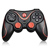 Esenlong T3- Bluetooth Wireless Game Controller Gamepad Joystick for iOS Android Smart Phone, Tablet, Computer, TV, TV Box, etc.