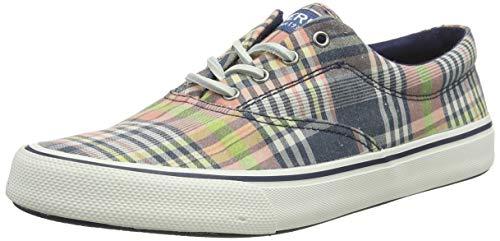 Sperry Men's Striper II CVO Sneaker, Plaid, 9.5 Medium -  STS22401-001-9.5 M US
