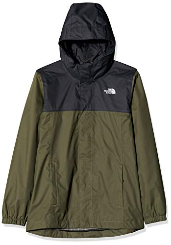The North Face Resolve Reflective, Giacca Impermeabile Unisex Bambini, Verde (New Taupe Green), XL