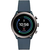 Fossil Men's Sport Metal and Silicone Touchscreen Smartwatch