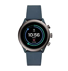 Fossil Sport Unisex Smartwatch 43mm Smokey Blue - FTW4021,Fossil India Pvt. Ltd.,FTW4021