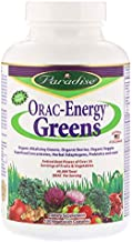 Paradise Herbs ORAC-Energy Greens 120 Veggie Caps Estimated Price : £ 23,95
