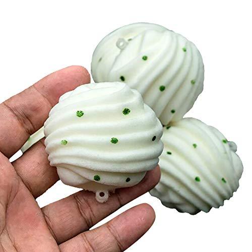 MARIJEE Simulación Hanamaki Moño al vapor Juguetes lentos Aliviar el estrés Squishy Squeeze Toy, suave perfumado de levantamiento lento juguetes regalos para niños y adultos (3 piezas)