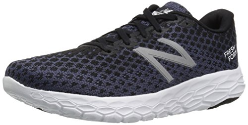 New Balance Women's Fresh Foam Beacon V1 Running Shoe, Black, 7.5 B US