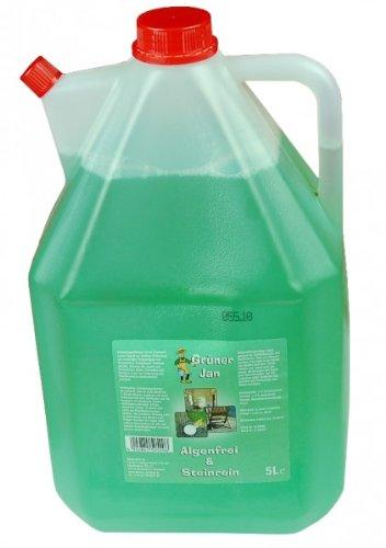 Grüner Jan 5 Liter Algenfrei Steinreiniger Kanister