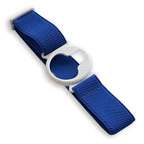 Enlite Fixierband: Weiß (Flexibel/Sensitiv) | Diasticker® (Large: 35-45 cm, Royalblau)