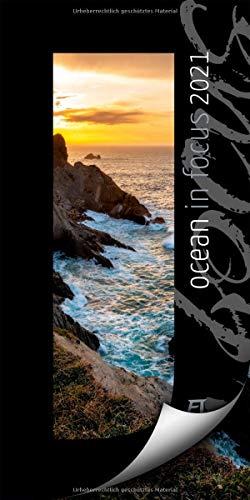 Ocean in Focus Kalender 2021, Wandkalender mit Passepartouts zum Wegklappen im Hochformat (33x66 cm) - Meer- / Naturkalender