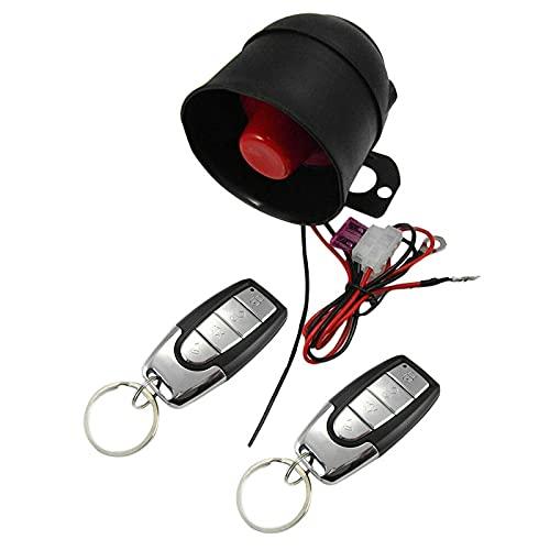 BOINN Sistema de VibracióN de Alarma de Alarma Unidireccional de Coche Universal Kit de Dispositivo Antirrobo de AutomóVil