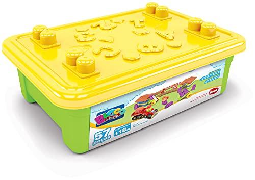 Brinquedo Para Montar Fazendinha 53 Peças Dismat