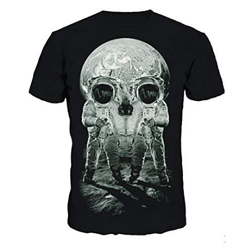 CZPF Mannen Compressie Shirt Shantou Digitale Printing T-Shirt Halloween Tide Merk Short-Sleeved Sneldrogende Bottoming Shirt