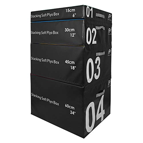 FunctionalFitness - Cajas Blandas apilables (15 cm, 30 cm, 45 cm y 60 cm de...