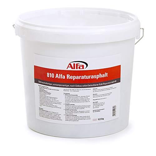 Reparaturasphalt 25kg Kaltasphalt Körnung 0 bis 5 mm zur Ausbesserung von Schlaglöchern im wiederverschließbaren Eimer, Reparatur Asphalt