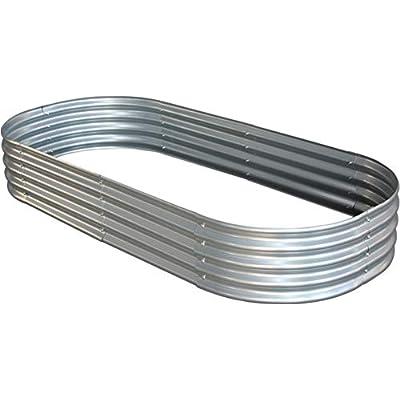 raised garden bed metal