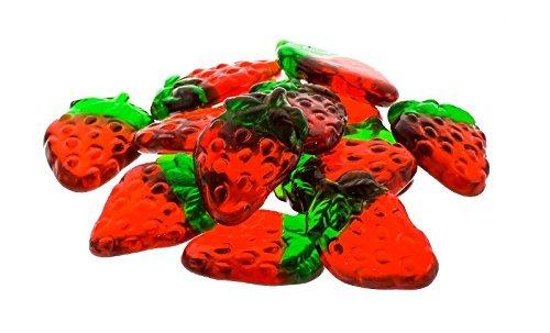 Haribo Gummi Strawberries - 5LB Bag