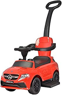 Licensed Mercedes Benz AMG GLE3 - 3 in 1 Push Baby Car from Chilokbo (Red)