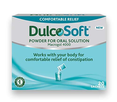 Dulcosoft Pulver Mundabführmittel zur komfortablen Linderung von Verstopfung, 20 Beutel, 26,2 ml
