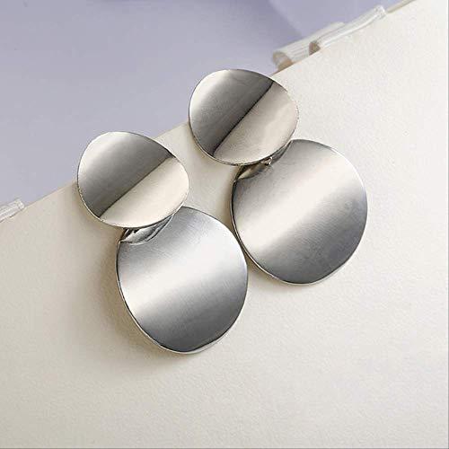 Geschenken Oorbellen Oorknopjes voor vrouwen Gouden kleur Halfronde bal Geometrische oorbellen voor feest Huwelijkscadeau OorjuwelenZilver 2