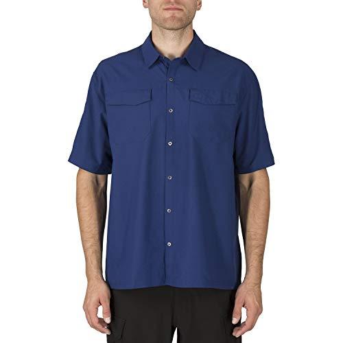 5.11 Camiseta de Manga Corta Tejida Freedom Flex para Hombre, Talla S