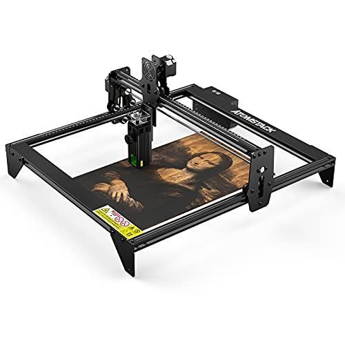 30W ATOMSTACK A5 M30 CNC Laser Engraver DIY Laser Marking Cutting Machine, 410X400mm Large Working Area, Wood Metal Leather Marking Cutting Machine