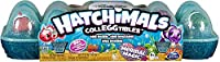 12colori cangianti hatchimals: il cartone 12-Pack uovo è il modo più veloce per iniziare la vostra collezione di mermals (half-mermaid, half-hatchimal), 2Clownfish esclusivi e molto altro ancora. DIP questi personaggi in acqua calda per vedere qual...