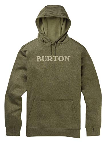Burton Herren Oak Fleece Pullover, Keef Heather, XS