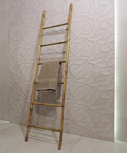 Scala Scaletta Design Piantana Portasciugamani In Legno Bamboo Per Bagno,Camera