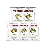 トーレス エクストラバージンオリーブオイル味 ポテトチップス 1袋50g入り×5個セット