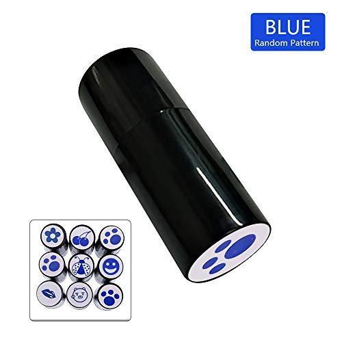 Wankd 1 PCS golfbalstempel, stempel voor golfclubs, golfbalstempel/golfbalmarkerer/marker in verschillende ontwerpen, willekeurig patroon