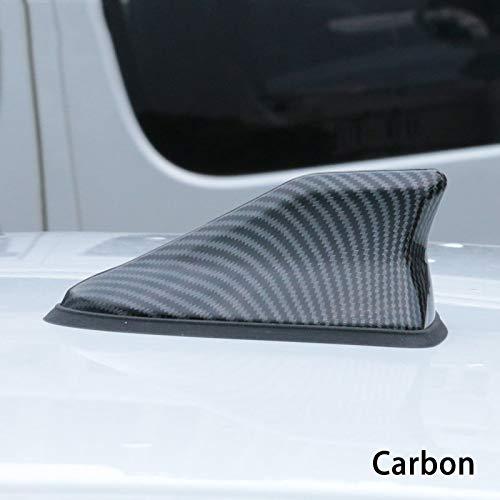 Zxwzzz Impermeable del Coche de Aleta de tiburón Antena automática de señal de Radio de Antenas de Techo Antenas Car Styling for Opel Corsa A/b/c/d/e (Color : Carbon)