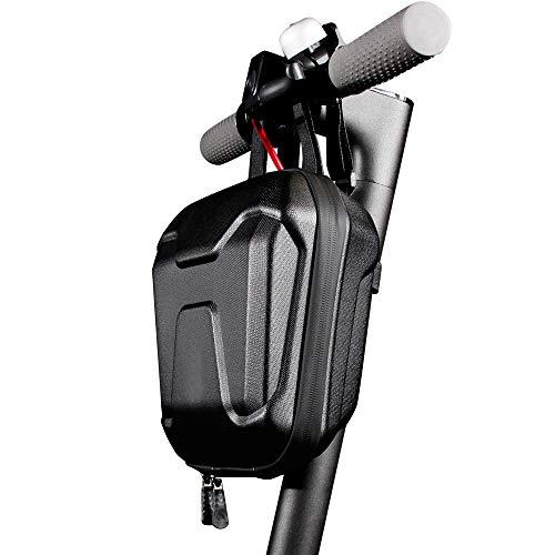 KKmoon Bolsa Manillar para Scooter Electrico, Bolsa de Almacenamiento de Scooter Impermeable, Bolsa Colgante de Patinetes Electricos 2.5L Plegables Bolsa de Suspensión Delantero de Scooter