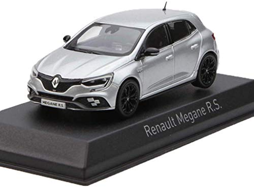 1:43 Modelo de Coche Renault Megane R.S Regalo 2018 de la aleación Modelo de Coche de niño/niña (Color: Plata, Tamaño: 10cm * 4.5cm * 3.5cm) KaiKai (Color : Silver, Size : 10cm*4.5cm*3.5cm)