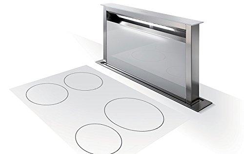 Faber Dunstabzugshaube Fabula Plus Tischhaube 90 cm Glas Weiß