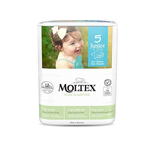 Moltex Pure & Nature - Pañales (talla 5 Junior)