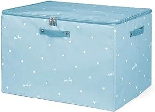 Lpiotyucwh Paniers et Boîtes De Rangement, Boîte de rangement à grande capacité, boîte de rangement pliable, boîte de rang...