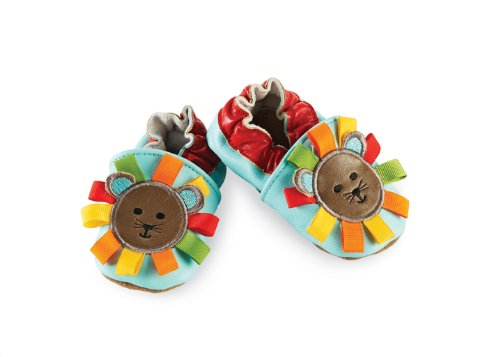 Mud Pie Baby-Boys Newborn Lion Shoe Socks - Multi-colored - 0-6 Months