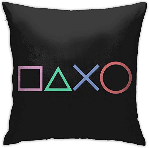 BONRI Playstation Kissenbezüge, Kissenbezug Kissenbezug für Sofa Couch Decor , (16