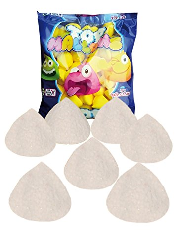 Top Mallows Blancos - Espuma dulce - Marshmallows - TOP CANDY 1 kg