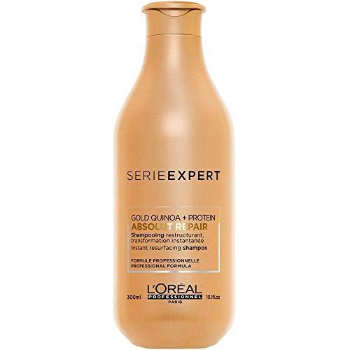 L'Oréal Professionnel Série Expert Absolut Repair Gold Quinoa + Protein Shampoo, 300 ml