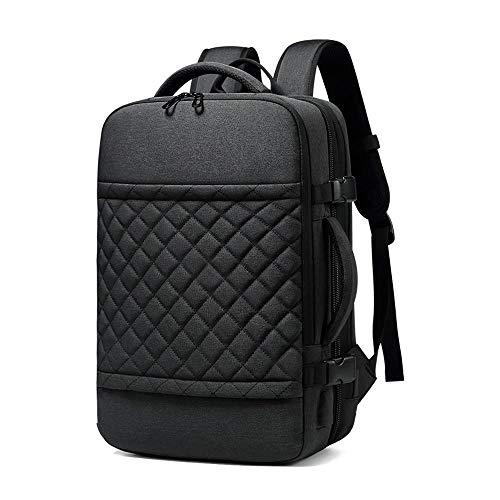 MROSW Laptop Rucksack, Multifunktions Outdoor Reiserucksack Männer, USB Schnittstelle, Wasserdicht, Anti Diebstahl, Verschleißfest,Reise Essentiell, kann 5-7 Tage Reiseartikel Unterbringen