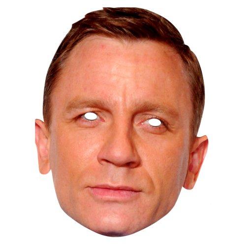 Daniel Craig Celebrity Face Card Mask