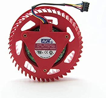 GPU VGA Cooler Fan Turbo Blower for Sapphire HD5770 4890 HD 4870 Video Graphics Card Grafikkarte Cooling As Replacement
