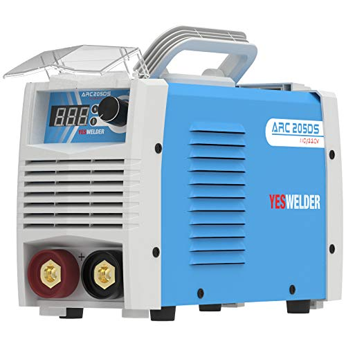 YESWELDER ARC Welder 205Amp Digital Inverter IGBT Stick MMA Welder,110V/220V Dual Voltage Hot Start Portable Welding Machine