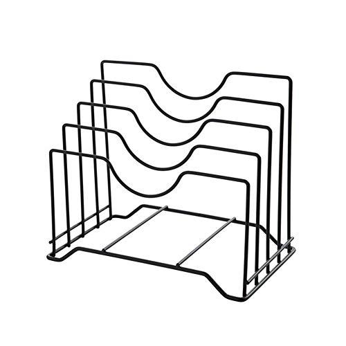 Arvin87Lyly Rack Schneidebrett, Rahmen, Abtropfgitter für Geschirr, Vier Gitter, Brett-Halterung, perfekt für Küchenutensilien