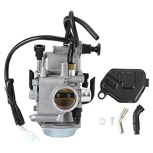 Fditt Reemplazo del carburador Quad Hedge Trimmer Brush Cutter Blower Edger Cultivator Carburador Piezas de Repuesto aptas para Honda Foreman 450 TRX450ES TRX450FE TRX450FM 1998-2004